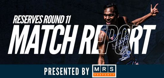 MRS Property Reserves Match Report Round 11: South @ Sturt