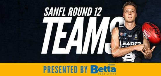 Betta Teams: SANFL Round 12 - South Adelaide @ West Adelaide