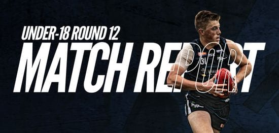 Under-18 Match Report Round 12: South vs West