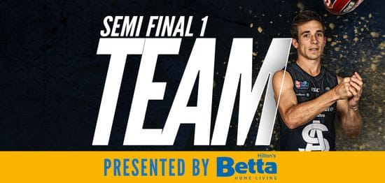 Betta Team: Semi Final 1 - South Adelaide vs Glenelg
