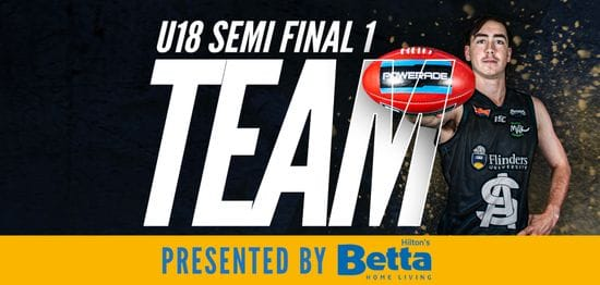 Betta Teams: Under-18 Semi Final 1 - South Adelaide vs Eagles