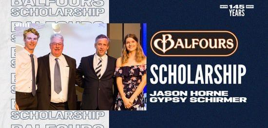 Balfours Scholarship