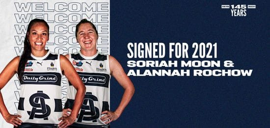 Soriah Moon and Alannah Rochow become Panthers!