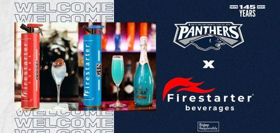 Firestarter Beverages bring the party down south