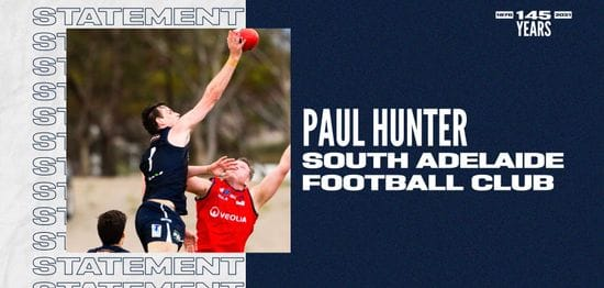 Club Statement: Paul Hunter