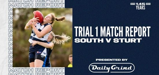 Daily Grind Women's Match Report: Trial 1
