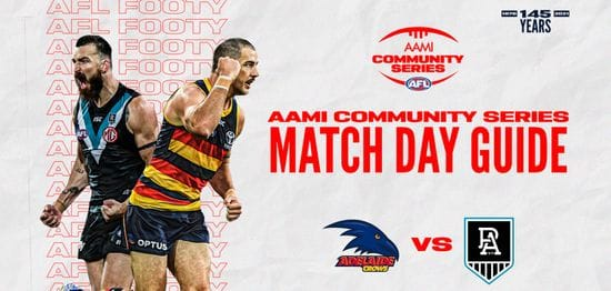 AAMI Community Series | Match Day Guide