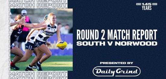 Daily Grind Women's Match Report: Round 2 vs Norwood