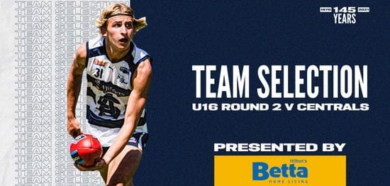 BETTA Team Selection: Under-16 Round 2 vs Central District