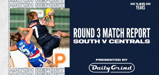 Daily Grind Women's Match Report: Round 3 vs Central District
