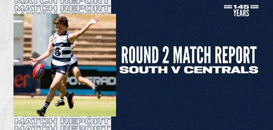 Under-16 Match Report: Round 2 vs Centrals