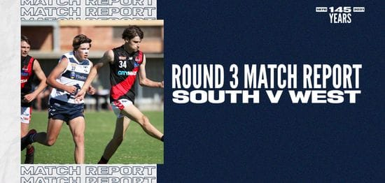 Under-16 Match Report: Round 3 vs West