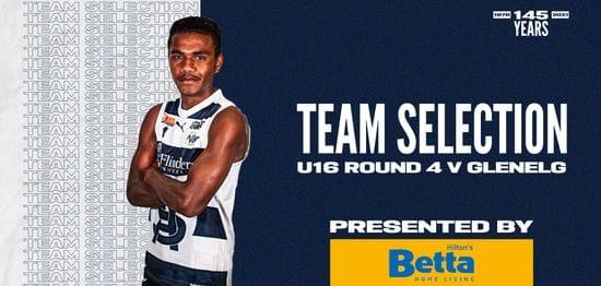 BETTA Team Selection: Under-16 Round 4 vs Glenelg