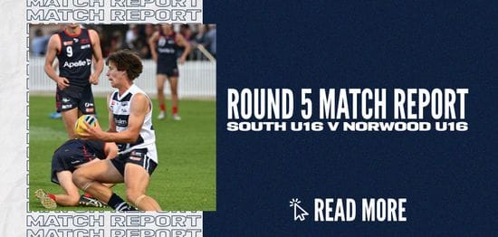 Under-16 Match Report: Round 5 @ Norwood