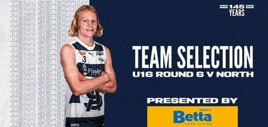 BETTA Team Selection: Under-16 Round 6 vs North Adelaide