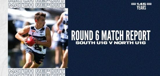 Under-16 Match Report: Round 6 vs North Adelaide