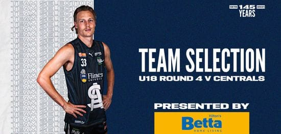BETTA Team Selection: Under-18 Round 4 vs Central District