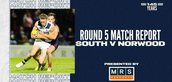 MRS Property Match Report Round 5: vs Norwood