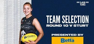 BETTA Team Selection: SANFLW Round 10 vs Sturt