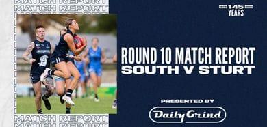 Daily Grind Women's Match Report: Round 10 vs Sturt