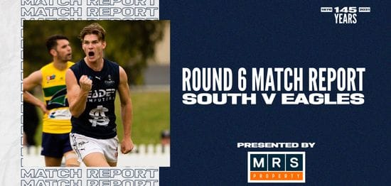 MRS Property Match Report Round 6: vs Eagles