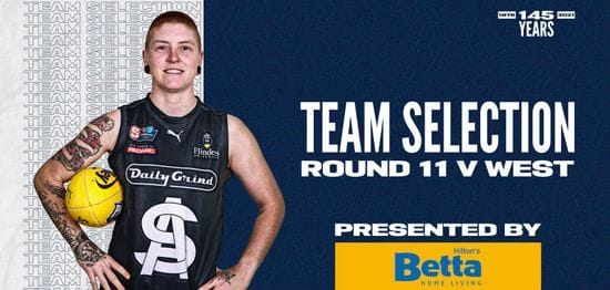 BETTA Team Selection: SANFLW Round 11 vs West Adelaide