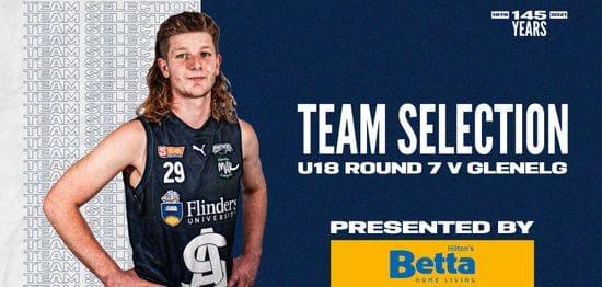 BETTA Team Selection: Under-18 Round 7 vs Glenelg