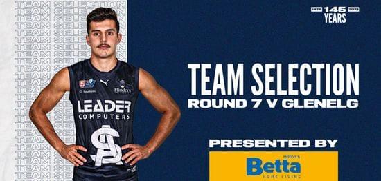 BETTA Teams Selection: Round 7 vs Glenelg