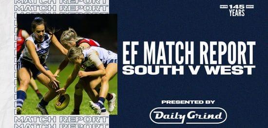 Daily Grind Women's Match Report: Elimination Final vs West