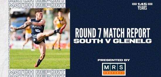 MRS Property Match Report Round 7: vs Glenelg
