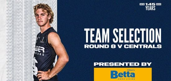 BETTA Teams Selection: Round 8 vs Central District