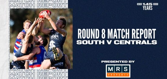MRS Property Match Report Round 8: vs Central District