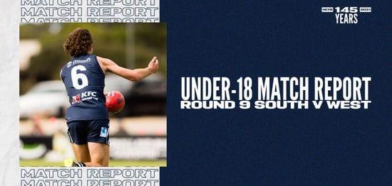 Under-18 Match Report: Round 9 vs West Adelaide