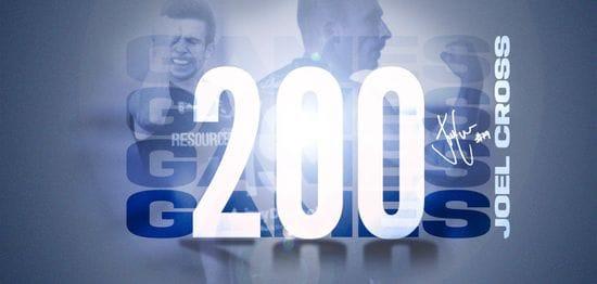 Joel Cross Joins the 200 Club