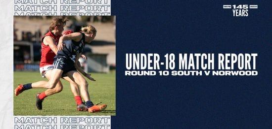 Under-18 Match Report: Round 10 vs Norwood