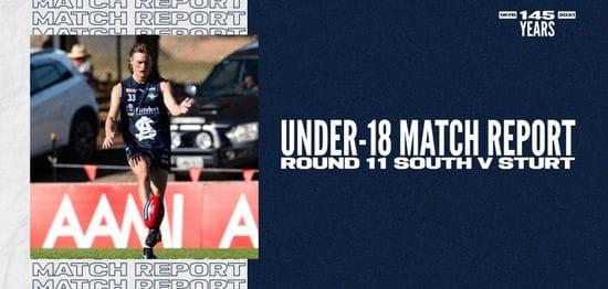 Under-18 Match Report: Round 11 vs Sturt