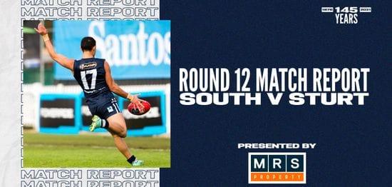 MRS Property Match Report Round 12: vs Sturt