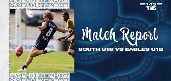 Under-18 Match Report: Round 12 vs Eagles