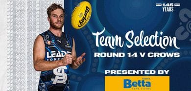 BETTA Teams Selection: Round 14 v Adelaide
