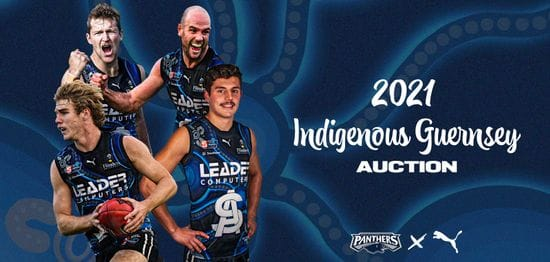 2021 Match-worn and player issue Indigenous Guernseys now available!