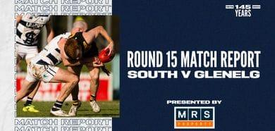 MRS Property Match Report Round 15: vs Glenelg