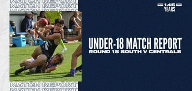 Under-18 Match Report: Round 15 vs Central District