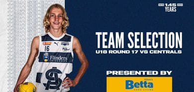 BETTA Team Selection: Under-18 Round 17 vs Central District