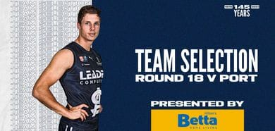 BETTA Teams Selection: Round 18 v Port Adelaide