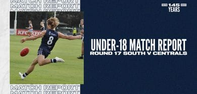 Under-18 Match Report: Round 17 vs Central District