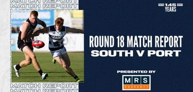 MRS Property Match Report Round 18: vs Port Adelaide