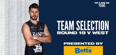 BETTA Teams Selection: Round 19 v West Adelaide
