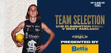 BETTA Team Selection: Under-18 EF vs West Adelaide