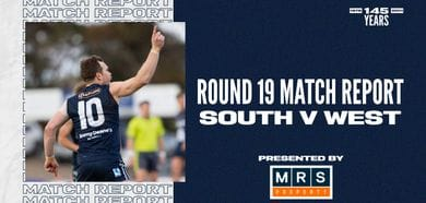 MRS Property Match Report Round 19: vs West Adelaide