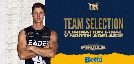 BETTA Teams Selection: EF v North Adelaide